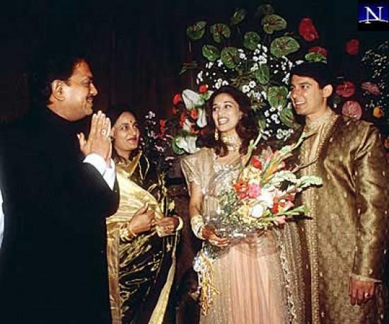 Madhuri Dixit Married To Shriram Madhav Nene