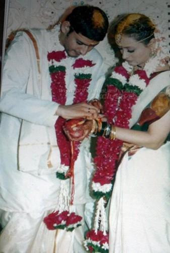 Namrata Shirodkar And Mahesh Babu Marriage Photos