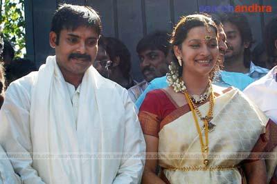 Pawan Kalyan And Renu Desai Marriage Photos