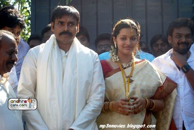 Pawan Kalyan And Renu Desai Marriage Photos