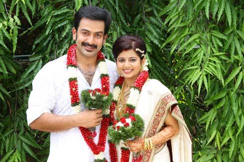 Supriya Menon And Prithviraj Wedding Photos