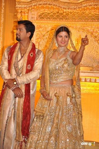 Indran Pathmanathan And Rambha Wedding Photos
