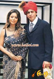 Shahrukh Khan And Gauri Khan Wedding Pics Photos
