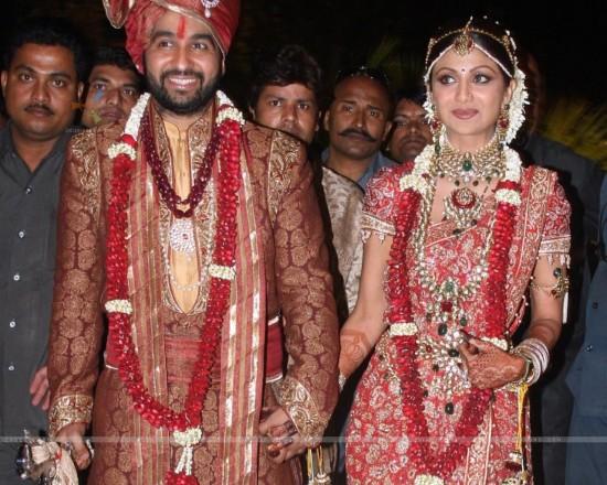 Raj Kundra And Shilpa Shetty Wedding Photos