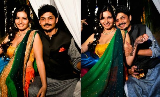 Shiraz Bhattacharya And Shonali Nagrani Marriage Photos