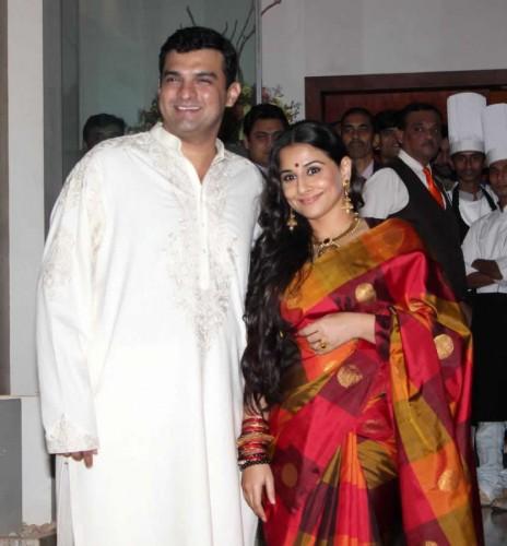 Siddharth Roy Kapoor And Vidya Balan Wedding Pictures