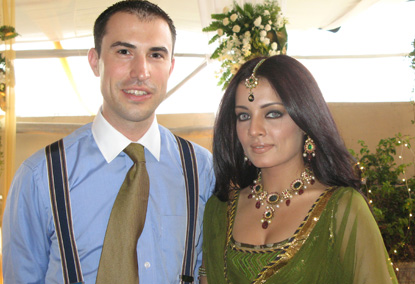 Peter Hagg Tied The Knot With Celin Jaitley