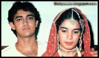 Aamir Khan And Reena Dutta Wedding Pictures