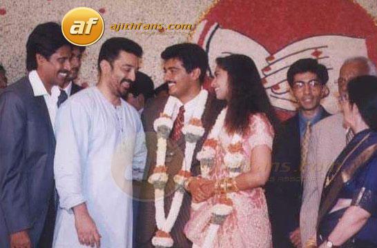 Ajith And Shalini Wedding Photos