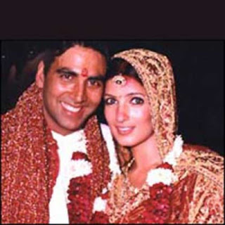 Twinkle Khanna And Akshay Kumar Wedding Photos