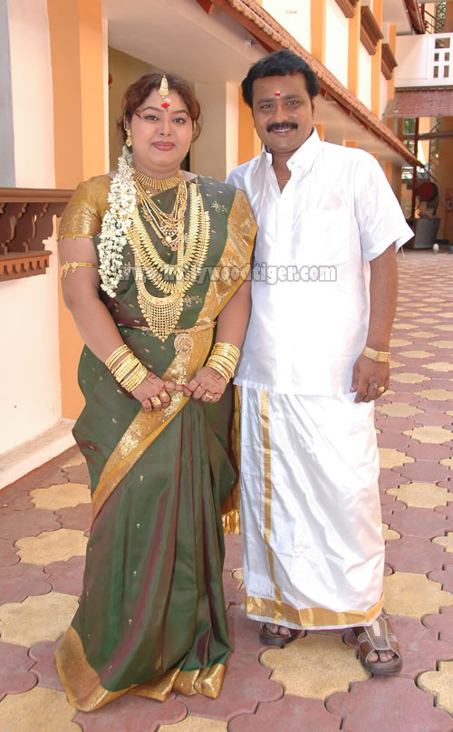 Comedians Aarthi And Master Ganesh Marriage Photos