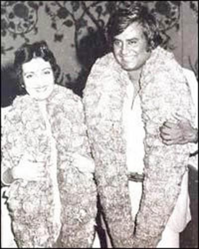Latha Rangachari And Actor Rajinikanth Wedding Pictures