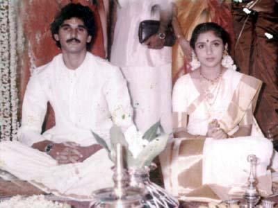 Actress Revathi Marriage Photos