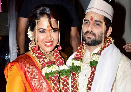 Sameera Reddy And Akshai Varde Wedding Photos
