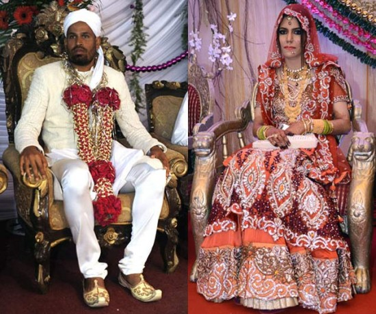 Yousuf Pathan And Afreen Marriage Photos