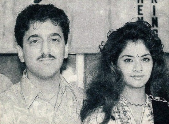 Sajid Nadiadwala And Actress Divya Bharti Wedding Pictures