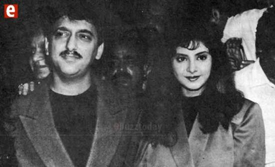 Actress Divya Bharti And Sajid Nadiadwala Marriage Photos