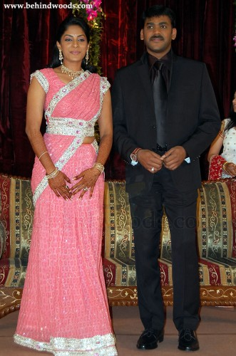 Vikram Krishna And Actress Shreya Reddy Marriage Pictures