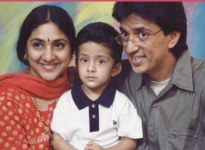 Actor Raghuvaran And Rohini Marriage Photos