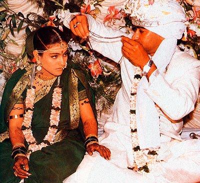 Kajol Ajay Devagn Wedding Pictures