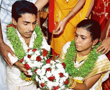 Pakru (Ajay Kumar) And Gayatri Mohan Wedding Photos