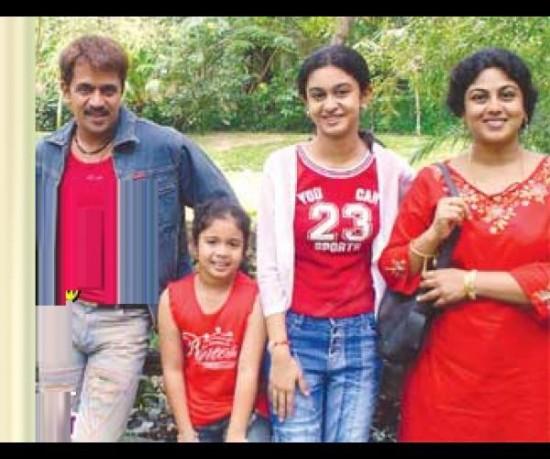 Tamil Actor Arjun Sarja And Asha Rani Marriage Photos