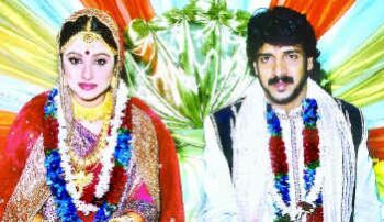 Actress Priyanka And Upendra Wedding Photos