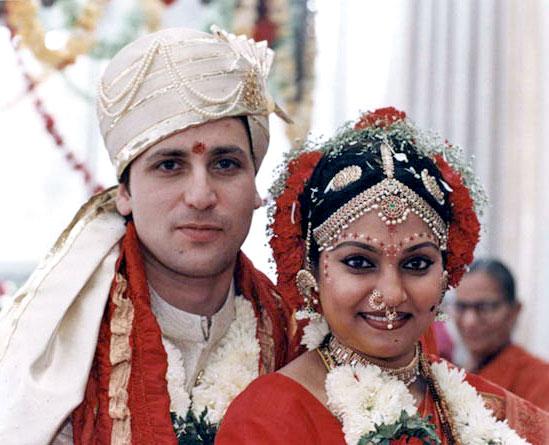 Actress Madhavi And Ralph Sharma Marriage Photos
