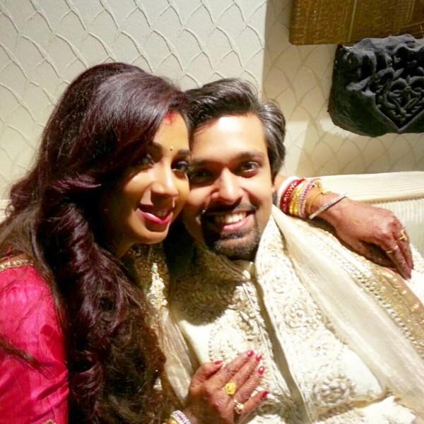 Singer Shreya Ghoshal And Shiladitya Mukhopadhyaya  Marriage Pictures