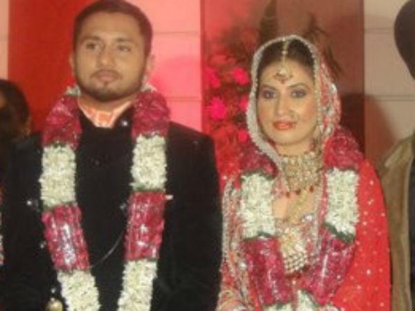 Yo Yo Honey Singh And Shalini Singh Marriage Photos