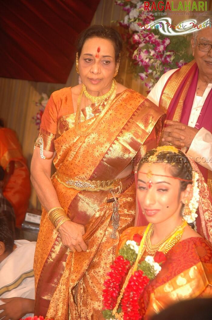 Jamuna Daughter Sravanthi And Vijay Rahul Wedding Photos