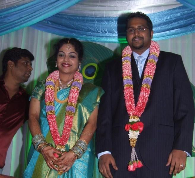 Manivannan Daughter Jothi And Sathish Raghunathan Wedding Photos