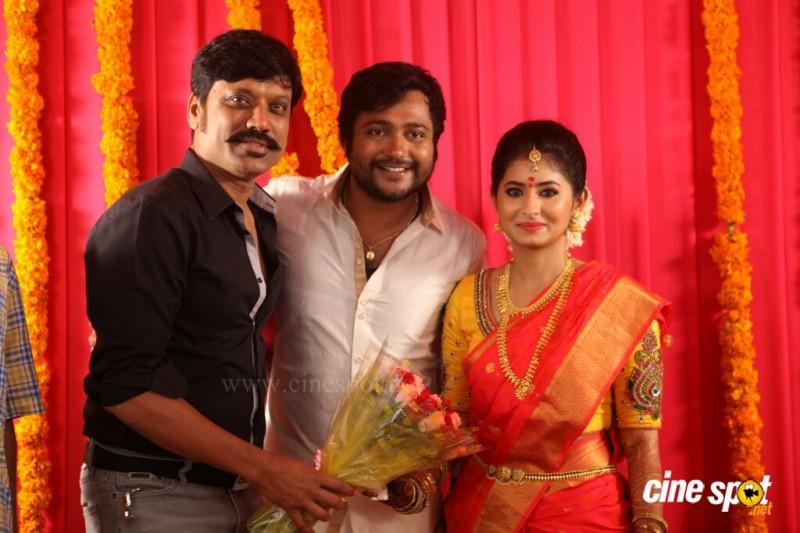 Reshmi Menon And Actor Bobby Simha Marriage Photos