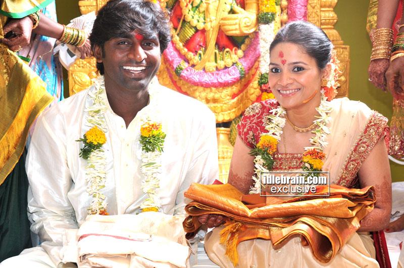 Senthil Kumar And Ruhee Marriage Photos