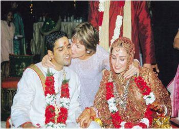 Sonya Jehan And Vivek Narain Marriage Photos