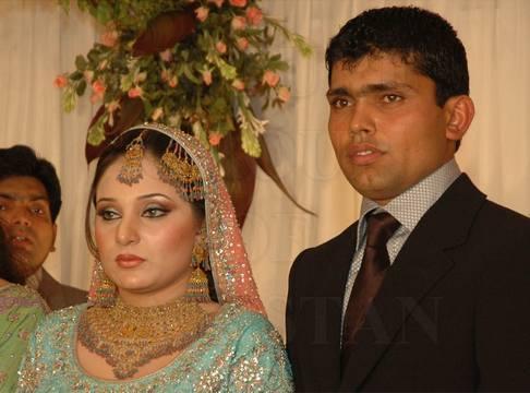 Aaiza And Kamaran Akmal Marriage Photos
