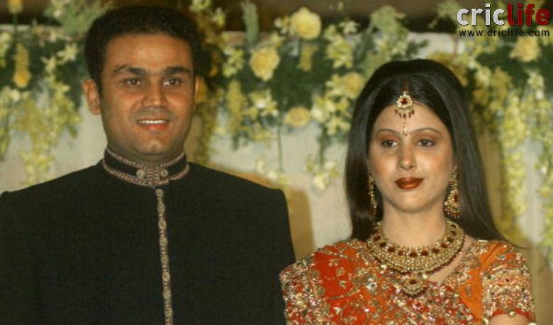 Virendra Sehwag And Aarti Ahlawat Wedding Photos