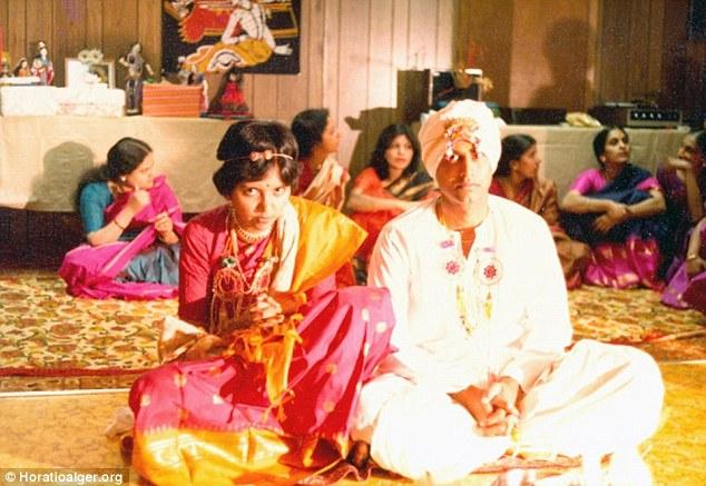 Raj K.Nooyi And Indra Nooyi Wedding Photos