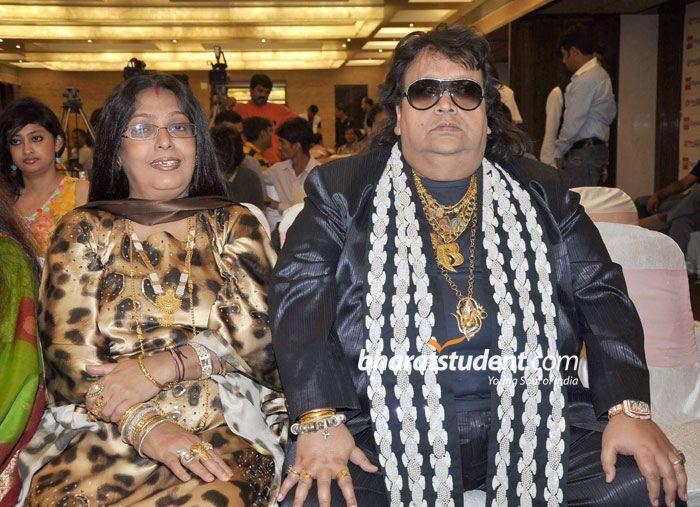 Chitrani And Bappi Lahiri Marriage Photos