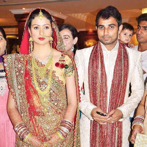 Indian Crickter Mohammed Shami And Haseen Jahan Wedding Photos