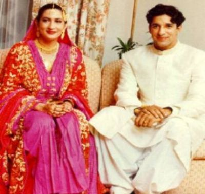 Huma Mufti And Wasim Akram 1st Marriage Photos