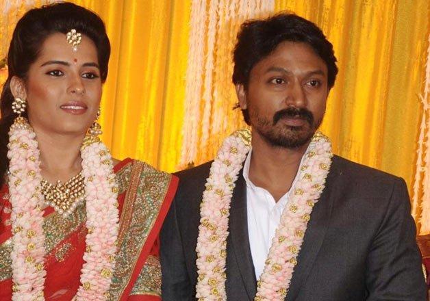 Actor Kreshna And Kaivalya Wedding Photos