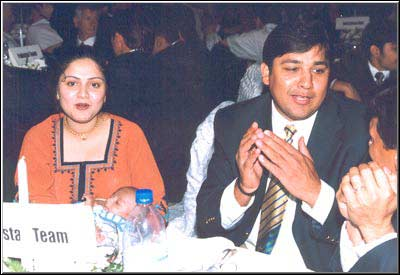 Inzamam-ul-Haq And Kashifa Wedding Photos