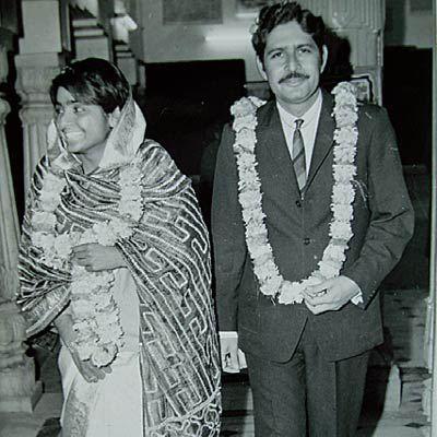 Kiran Bedi And Brij Bedi Wedding Photos