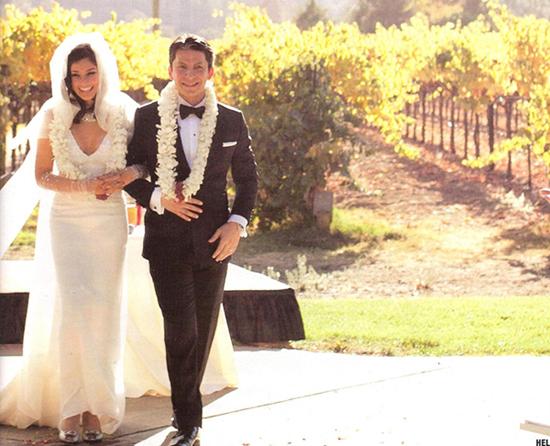 Jason Dehni And Lisa Ray Wedding Photos