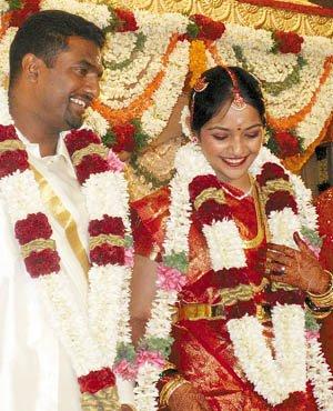 Muralitharan And Madhimalar Ramamurthy Wedding Photos