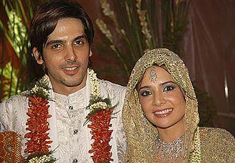 Zayed Khan And Malaika Parekh Wedding Photos