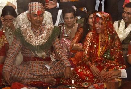 Manisha Koirala And Samrat Dahal Marraige Photos