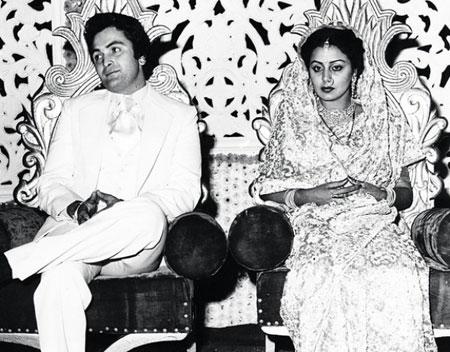 Neetu Singh And Rishi Kapoor Marraige Photos