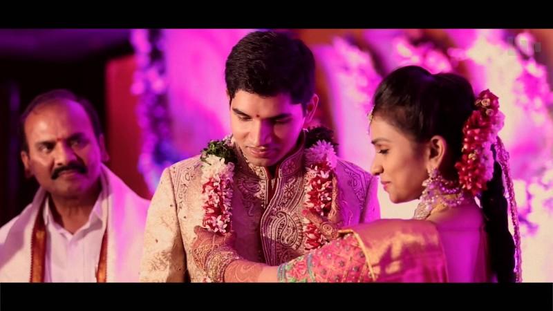 Prathipati Pulla Rao Daughter Swathi And Sharan Valuru Wedding Photos